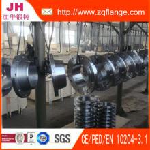 Brida de tubo de acero forjado de carbono zinc