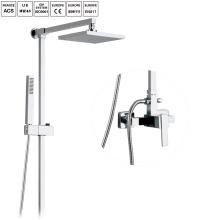 Латунь ванная комната дождь душ комплект ванны