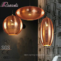 2017 New Product Ellipse Ancient Hollow Pendant Lighting with European Style