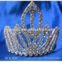 Diamond bridal tiara comb (GWST12-081)