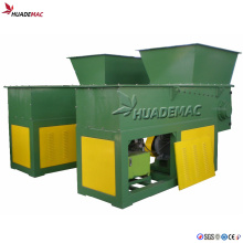 Waste HDPE Pipe Single Shaft Shredder