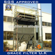asphalt mixing plant dust collection equipment bag filter