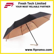 Paraguas plegable de moda para abrir manualmente