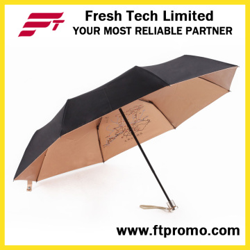 Umbrella Folding elegante para abrir manual
