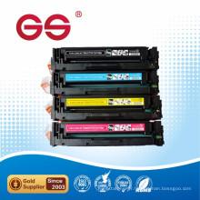 Imprimante laser couleur compatible pour HP cf400a cf401a cf402a cf403a cartouche de toner