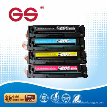 Compatible color laser printer for HP cf400a cf401a cf402a cf403a toner cartridge