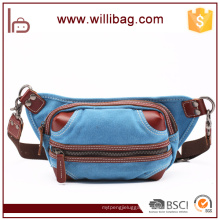Cycling Cross body Nylon Men Sport Waist Bag with Waist Pouch