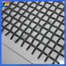 Гофрированная сетка / квадратная сетка / тканая проволочная сетка