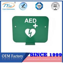 Personalización del fabricante de China aed corchete de pared para desfibrilador de Heartsine