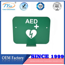 China manufacturer customization aed wall bracket for heartsine defibrillator