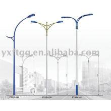 6-12meters sola o doble brazo de la lámpara de calle solar