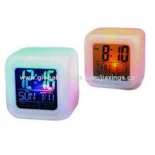 Desk Clocks, Made of Plastic, Customized Dials Welcomed