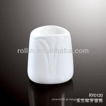 Artigo: Houseware Orchid Vein Porcelain Toothpick Holder