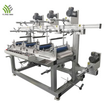 Четырехгрупповая многослойная машина для ламинирования электрических этикеток
