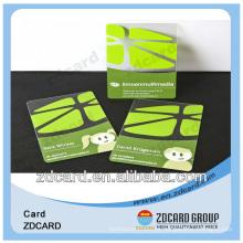 Cartão de impressão de cartão de plástico / PVC Busiess / cartão de nome