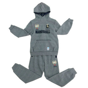 Children Babay Clothes with Hood in Track Suits, Sports Suits with Printing Swb-115