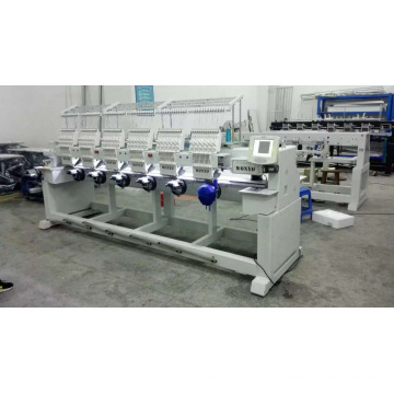 6 Heads Embroidery Machinery, Computer Cap Embroidery Machine