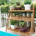 Practical Bamboo Flower Pot Frame
