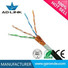 Isolation PE Jacket sftp cable câble intérieur / extérieur lan cat5e