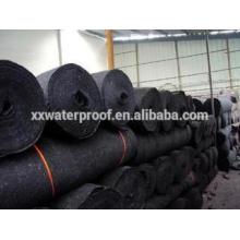 Black fiberglass mat for bitumen membrane