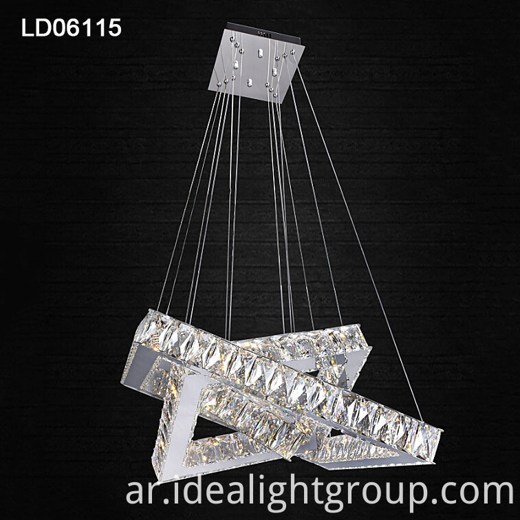 square rings crystal light