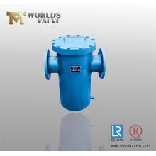 Cesta filtro utilizado para la tubería