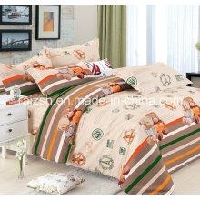 100% tela de algodón 4 PCS ropa de cama con diseño de moda