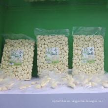 Diente de ajo fresco pelado en bolsa de 1 kg
