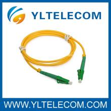 LC APC / ST Cable de conexión de fibra óptica Single Mode Telcordia GR-326-CORE