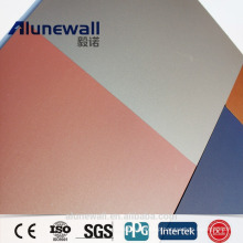 Alunewall 3mm double side 0.3 aluminium thickness spectra Chameleon DreamX Aluminium Composite Panel acp
