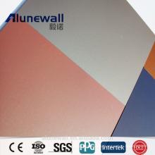 Alunewall 4мм двойной бортовой алюминий толщина 0.25 вступайте спектров алюминиевая составная панель ACP китайский завод прямые продажи