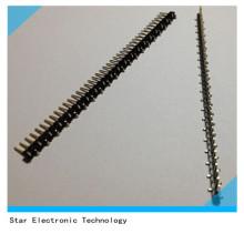 40 pin 2,54 мм Питч Мужской однорядные контактного коннектора