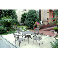 All Weather Outdoor Patio Cast Aluminium Tables Et Chaises
