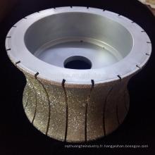 outils abrasifs diamantés électrolytiques