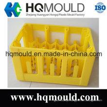 Modelagem por injecção plástica personalizada de 24 moldes da caixa de garrafas com ISO