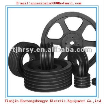 Black coating V-belt pulley SPA SPB SPC SPZ