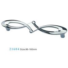 Aleación de zinc de muebles de hardware Tirar manija de gabinete (21604)