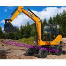 XCMG 15 Ton XE150W Wheel Excavator