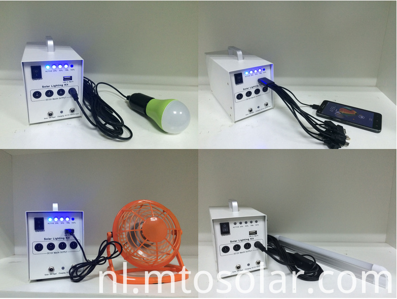 Mini 10w Solar Light System