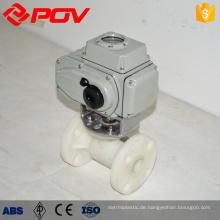 PVC-Flansch 20mm Kugelhahn Kunststoff