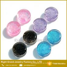 Großhandel Acryl Glitter Ohr Expander Körperschmuck Sex Piercing Plug