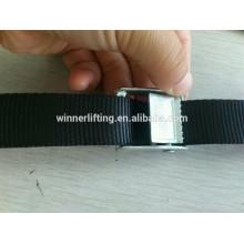 À bas prix de Ventes de Zinc pated 25mm cam boucle pour sangle polyester