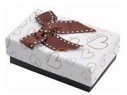 Настроенные печатные квадратной формы коробка подарка бумаги
