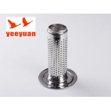 stainless steel bobbin for dyeing machine