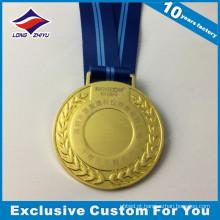 2017 Venda por atacado barata e medalha personalizada com laser