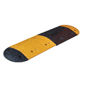 Durable road traffic rubber speed humps
