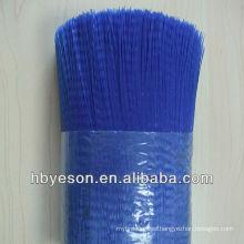 crimped pvc bristle/ pvc fiber