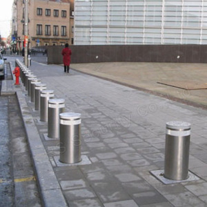 Automatic Traffic Telescopic Rising Bollards