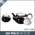 Resistente ao calor de boa qualidade cerâmica por atacado copo de chá e pires conjunto