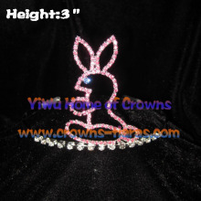 Lovely Crystal Rabbit Crowns
